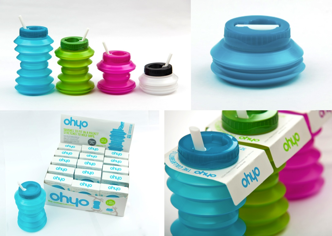Ohyo Collapsible Water Bottle