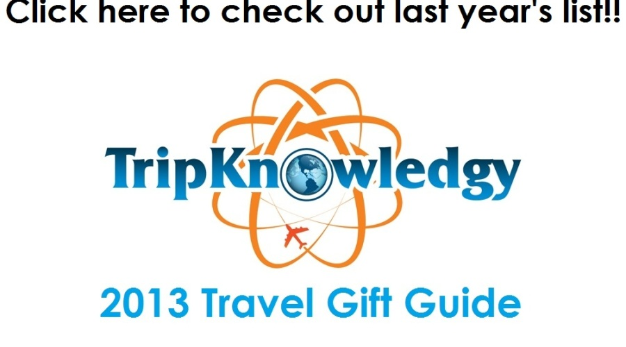 TripKnowledgy's 2013 Holiday Gift Guide